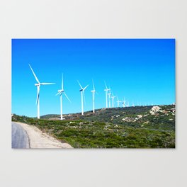 Harvesting Wind Canvas Print