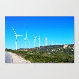 Harvesting Wind Canvas Print