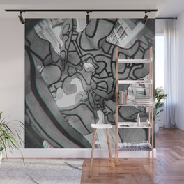 Group of four trees Wall Mural