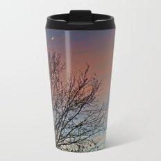 Tree and Moon Metal Travel Mug