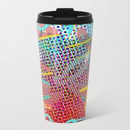 Dots 'N' Lines Metal Travel Mug