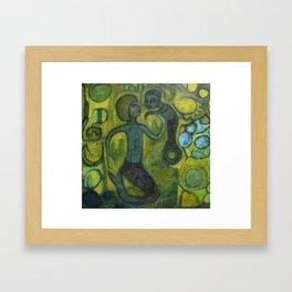 Burnished Sea Framed Art Print