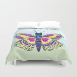 Butterfly III on a Summer Day Duvet Cover