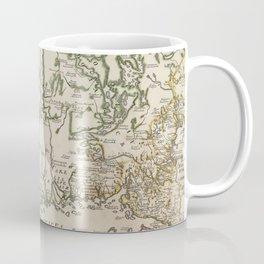 Vintage Map of Finland (1740s) Coffee Mug