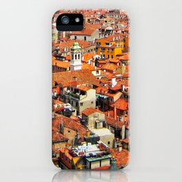 Venice Rooftops iPhone Case