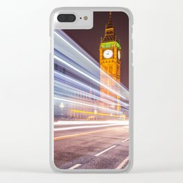 London 01 Clear iPhone Case