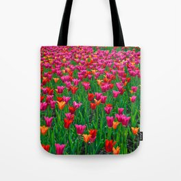 Ocean of Tulips - The Peace Collection Tote Bag