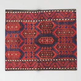 Baluch  Antique  Khorasan Persian Rug Throw Blanket