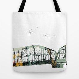 Bridge To Construction Tote Bag