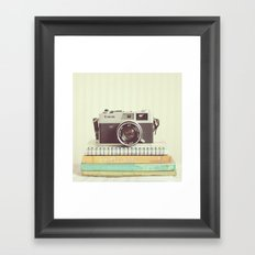 Simple Canonet  Framed Art Print