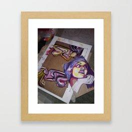 Post Framed Art Print