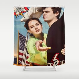 Lana Rey - NFR Shower Curtain