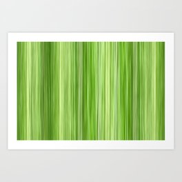 Ambient 3 in Key Lime Green Art Print