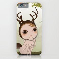 Deery Fairy under Autumn Leaves Slim Case iPhone 6s