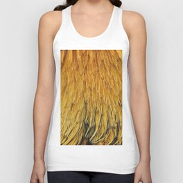 Fancy Rooster Feathers Unisex Tank Top