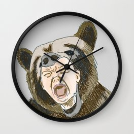 Tantrum Wall Clock