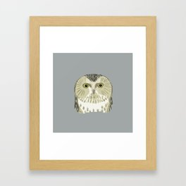 Monsieur Know it all Framed Art Print