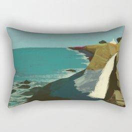 The Coast of California Rectangular Pillow