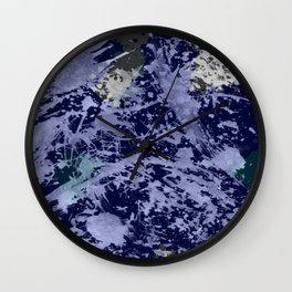Ocean Chaos Wall Clock