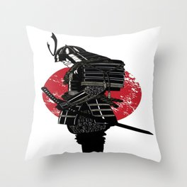 LEGEND OF SAMURAI Throw Pillow