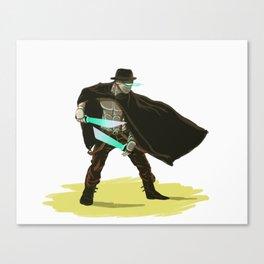 Robo-Western Canvas Print