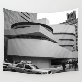 New York, Solomon R Guggenheim Museum, Frank Lloyd Wright Wall Tapestry