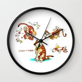 Calvin and Hobbes all Wall Clock