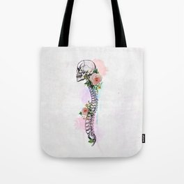 Life is the whisper of the Death Tote Bag