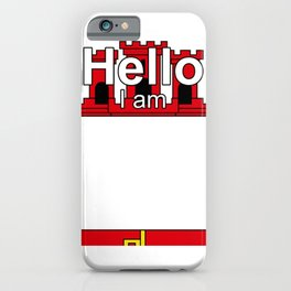 Hello I am from Gibraltar iPhone Case