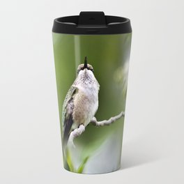 Elegant Hummingbird Travel Mug