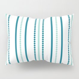 Blue dotted dreams 3 Pillow Sham