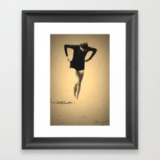 Woman Emerging (l) Framed Art Print
