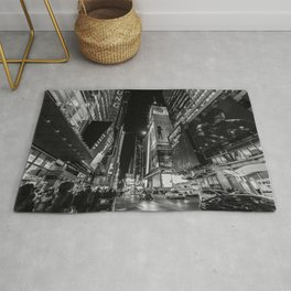 Night at Times Square Rug