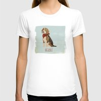 beagle T-shirts featuring Beagle by 52 Dogs