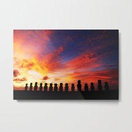 Easter Island Metal Print