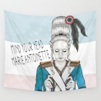 revolution Wall Tapestries featuring French Revolution by Sara Elan Donati