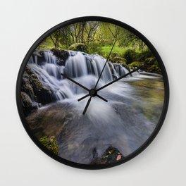 Mountian Water  Wall Clock