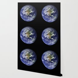 Planet Earth - The Blue Marble From Space Wallpaper