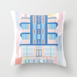 Miami Landmarks - Marlin Throw Pillow