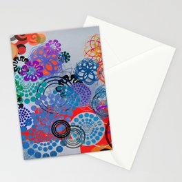 Abstract conposition 414 Stationery Cards