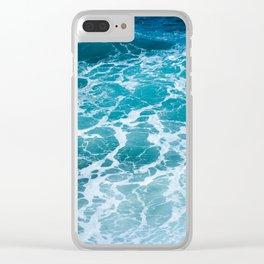 Ocean Waves in Hawaii Clear iPhone Case