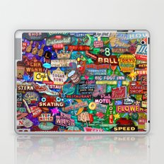 Vintage Neon Signs Laptop & iPad Skin