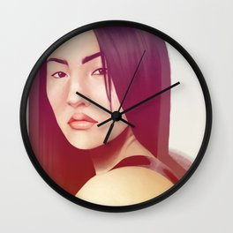 Portrait 10 Wall Clock