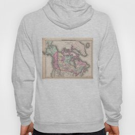 Vintage Map of Canada (1857) Hoody
