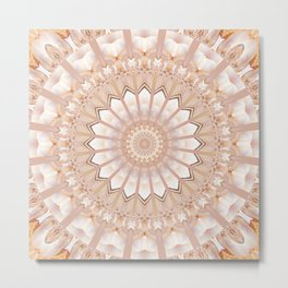 Mandala light creature Metal Print