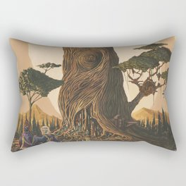 The Ancient Heart Tree Rectangular Pillow
