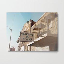 Shamrock Tavern 02 Metal Print