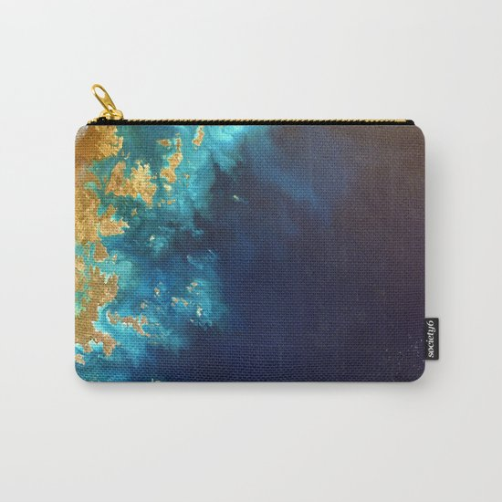 Ocean from above Carry-All Pouch