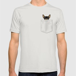 Pocket Chihuahua - Black T-shirt