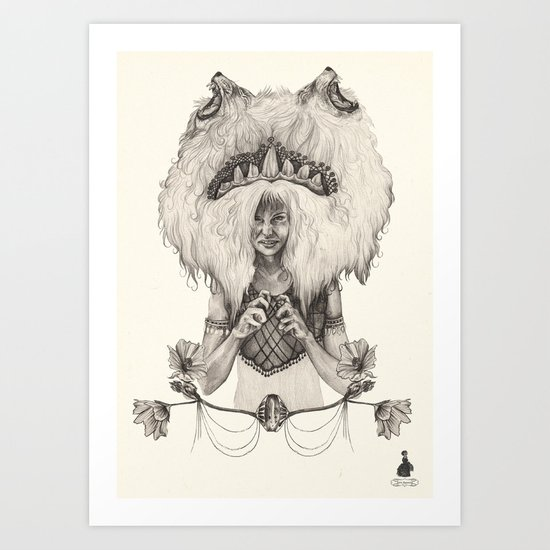 L E O  Art Print